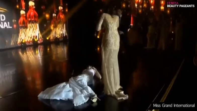 Miss Paraguay Clara Sosa Faints on Stage After Being Declared Miss Grand International 2018 Winner (Watch Video)