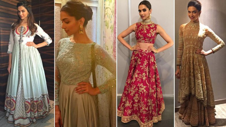 Diwali 2018 Outfit Inspiration – Deepika Padukone: Take Cues For Traditional Outings From The Fashion Goddess This Festive Season