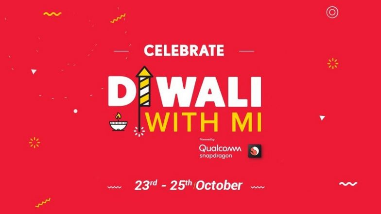 Xiaomi's 'Diwali With Mi' Sale Starts From October 23; Offers on Xiaomi Mi A2, POCO F1, Redmi 6A & Mi LED TV Under Re 1 Flash Deals
