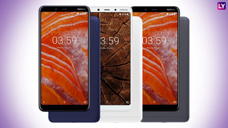 Nokia 3.1 Plus Android One Smartphone With 6-inch Display Launched; Priced in India From Rs11,499