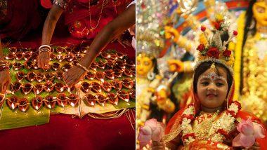 Durga Ashtami 2018 Date: Shubh Muhurat & Time for Maha Ashtami Puja and Pushpanjali Aarti During Durgotsava