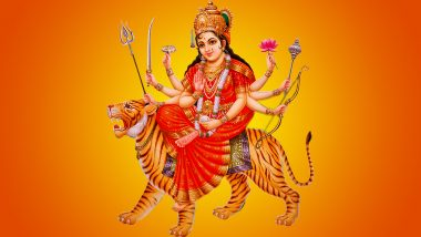 Navratri 2020 Holy Mantra, Wishes and Greetings: Send Good Luck & Positivity to Your Loved Ones Through These Maa Durga Chants During Sharad Navaratri