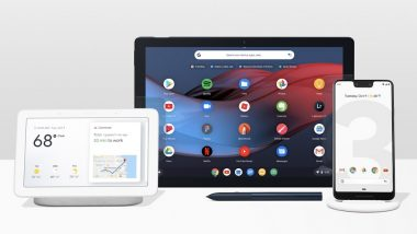 Google Pixel 3XL, Pixel 3, Google Pixel Slate & Home Hub Officially Unveiled
