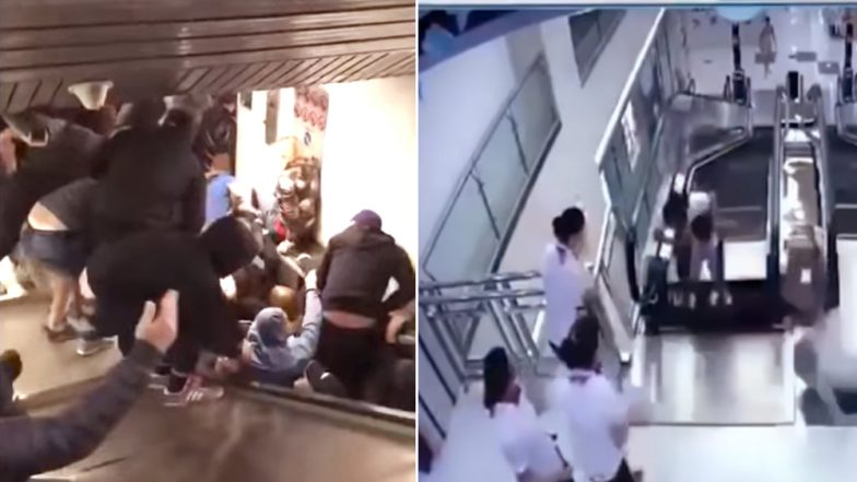 As Escalator Accident In Rome Injures More Than 20, Here's a List of Other Horrific Collapse Incidents Which Injured and Killed People! Watch Videos