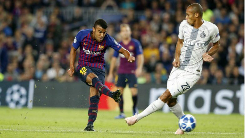 Barcelona vs Inter Milan, UEFA Champions League 2018–19 Video Highlights: Barcelona Win 2–0 in Absence of Lionel Messi