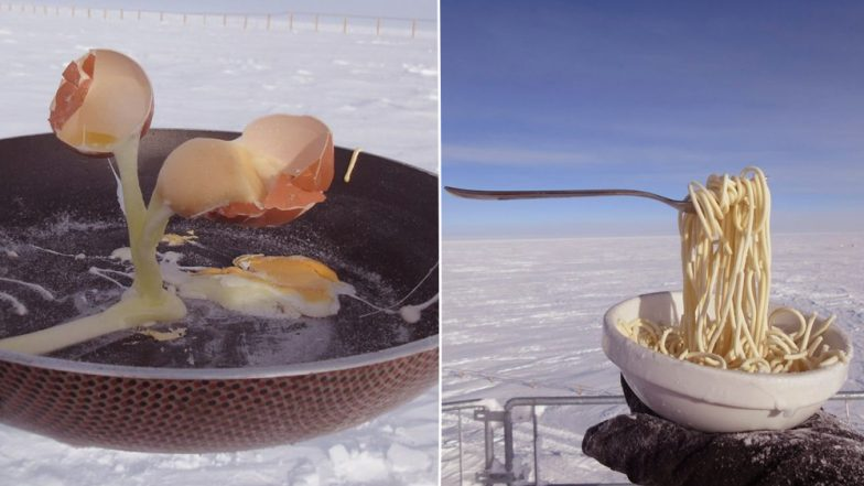 Scientists Try Cooking in -80 Degrees in Antarctica And The Pictures Are Gravity-Defying