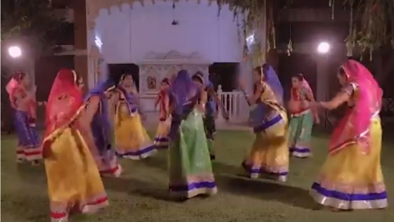 Garba Dance Performed by Visually Impaired Girls on Song Written by PM Narendra Modi; Watch Video