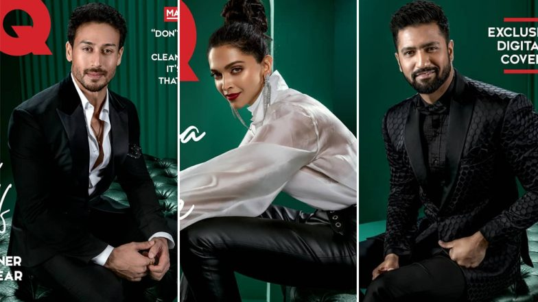 Deepika Padukone Joins Tiger Shroff and Vicky Kaushal to Grace the Cover of GQ India's Anniversary Edition – View Pics