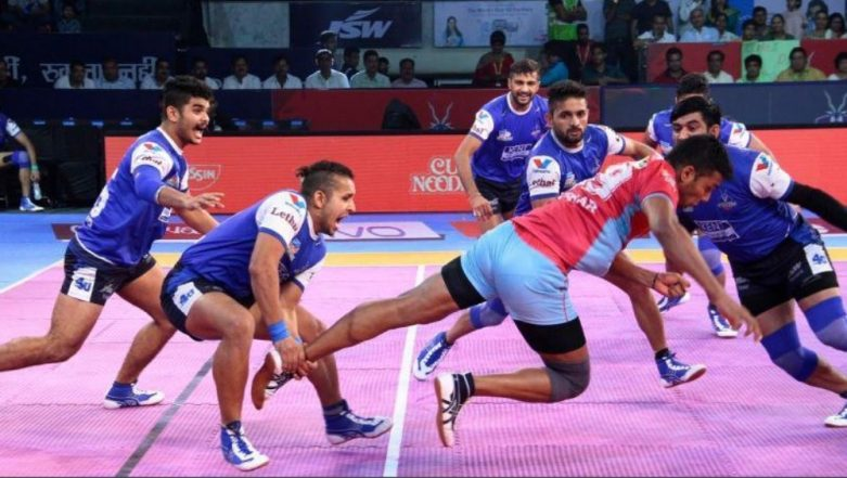 Pro Kabaddi League 2018-19 Live Streaming and Telecast Details: Get Match Timings in IST, Free Live Telecast of PKL Season 6 Fixtures on TV & Online