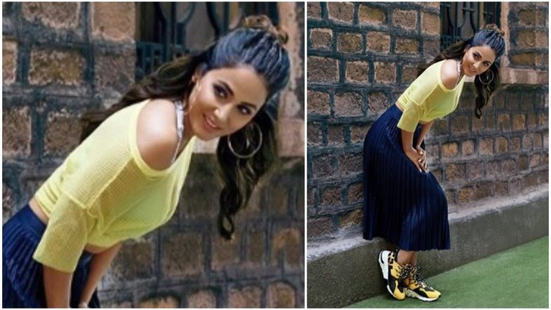 Kasautii Zindagii Kay 2 Actress Hina Khan Looks Stunning In Her