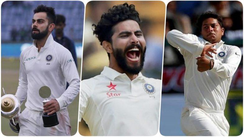 Latest ICC Test Rankings 2018: Virat Kohli Remains No 1 Batsman; Ravindra Jadeja, Kuldeep Yadav Move Up in All-Rounder and Bowler's List