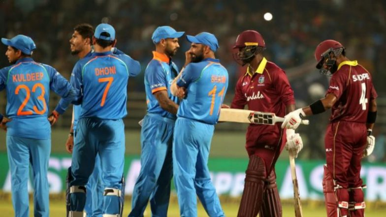 Live Cricket Streaming of India vs West Indies 2018 on Hotstar and YuppTV: Check Live Cricket Score, Watch Free Telecast of IND vs WI 4th ODI Match on TV & Online