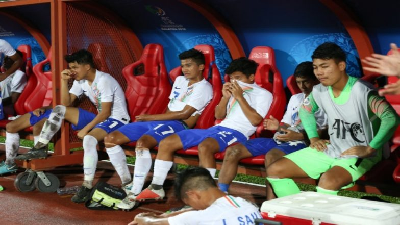 India vs Korea, AFC U-16 Football Championship: Fans Give Huge Round of Applause as the Boys Shed Tears After Losing to Korea (See Pics & Video)