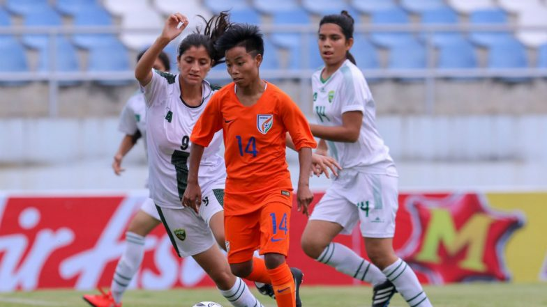 India vs Pakistan AFC U-19 Women's Championships; Indian Eves Thrash Pakistan 18–0 in Football Match