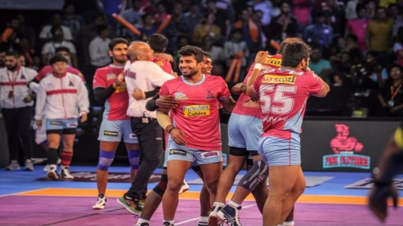 Patna Pirates vs Jaipur Pink Panthers, PKL 2018-19 Match Live Streaming and Telecast Details: When and Where To Watch Pro Kabaddi League Season 6 Match Online on Hotstar and TV?