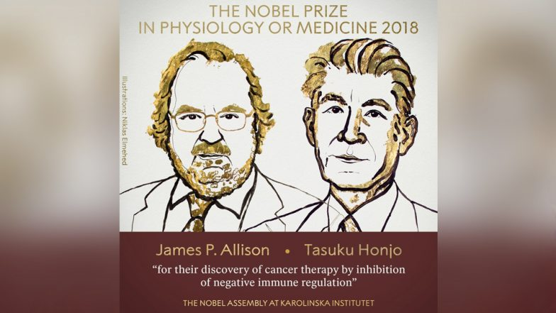 Nobel Prize 2018 For Physiology Or Medicine Winner: James P Allison & Tasuku Honjo Jointly Awarded Honour For Revolutionary Discovery in Cancer Therapy