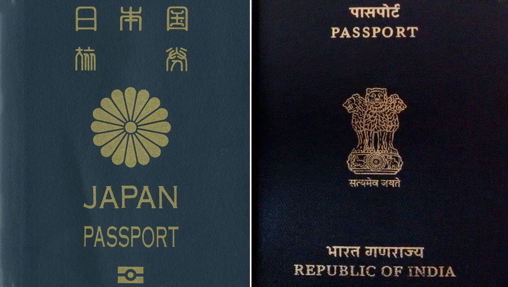 Indian Passport Drops One Place, Ranks 82 in Henley Passport Index 2019; Japan and Singapore Top the List