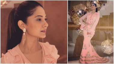 Bepannah Actress Jennifer Winget Slays in a Strikingly Stylish Pink Outfit - View Pic