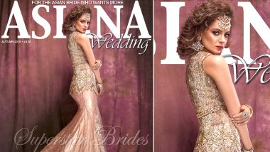 Kangana Ranaut as a Royal Bride on the Latest Cover for a Wedding Magazine (See Pics)