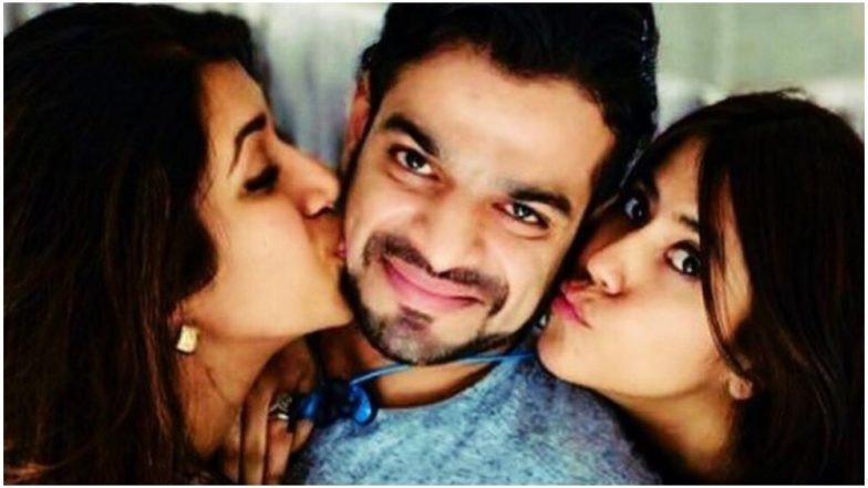 Terrific Tuesday: This Picture of Ekta Kapoor and Ankita Bhargava Kissing Karan Patel Is Too Cute to Be Missed