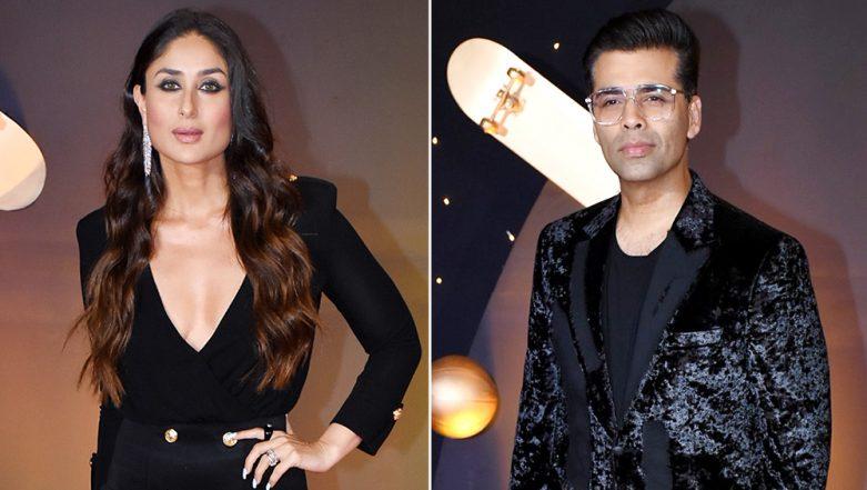 Kareena Kapoor Pokes Fun at Karan Johar By Telling Him To 'Stop Pretending to Be Kim Kardashian of The Country' - Watch Video