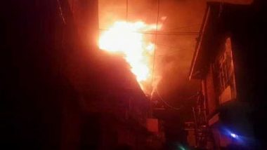 Mumbai: Fire Breaks Out at Crawford Market; Eight Fire Tenders Rush to Spot