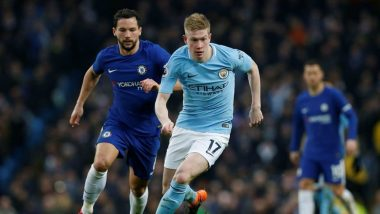 Manchester City Midfielder Kevin De Bruyne Back in Training After Knee Injury