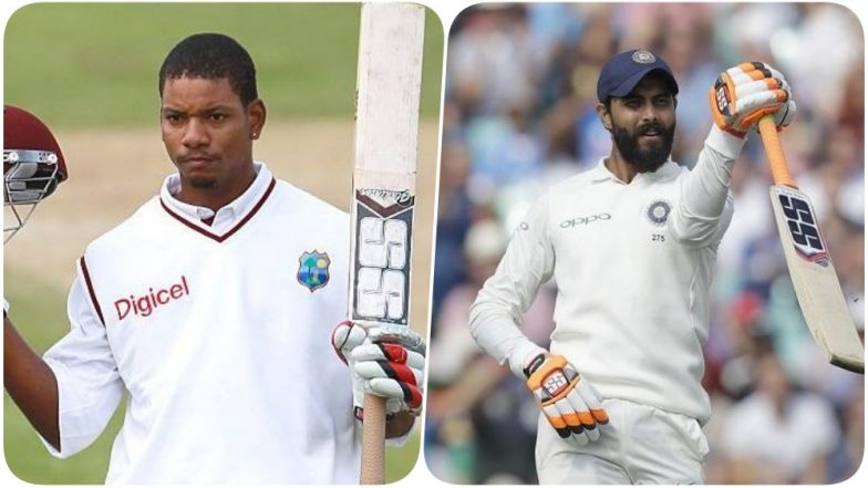Can Kieran Powell Retain His Record of Second Most Sixes in 2018; Ravindra Jadeja to Give a Tough Challenge in Second Test Match