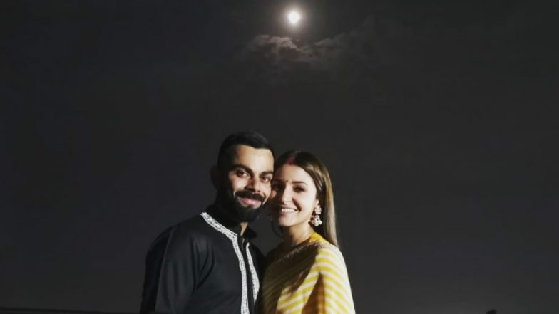 Virat Kohli, Anushka Sharma Karwa Chauth Pictures After India vs Windies Match Leave Us Puzzled!