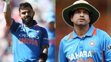 Virat Kohli Needs Just 81 More Runs to Break This Sachin Tendulkar Record, Indian Captain Could Well Achieve It During Ind vs Wi 2nd ODI 2018