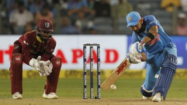 Virat Kohli Becomes First Indian Batsman to Score 3 Consecutive Centuries in ODIs, Achieves Milestone During IND vs WI in Pune