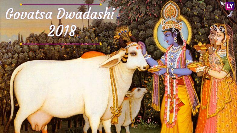 Govatsa Dwadashi 2018 Date & Significance: Know Puja Vidhi, Rituals & Importance of Worshipping Cows on Vasu Baras