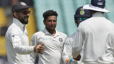Kuldeep Yadav Likely to Play Four-Match Test Series Against England, Hints Team Management