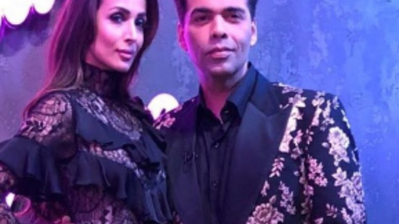 Karan Johar Just Called Malaika Arora a 'Taxi' and Here's How She Reacted! (Watch Video)