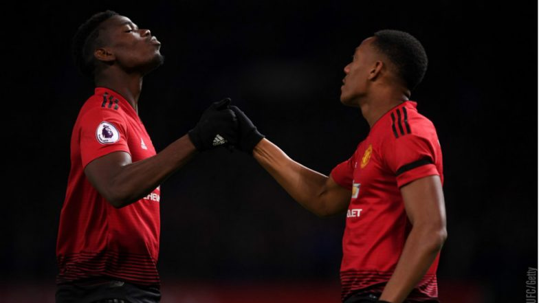 Manchester United vs Everton, EPL 2018–19 Match Video Highlights: Paul Pogba, Anthony Martial Score As United Beat Everton 2–1