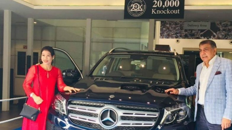 Boxer Mary Kom Delivers Mercedes Benz GLS Car to 'Lucky' Customer
