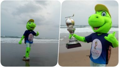 2018 Men's Hockey World Cup Mascot: Olly, the Olive Ridley Sea Turtle Is Officially Unveiled as Mascot in Odisha