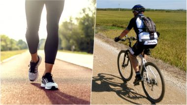 How to Improve Your Mental Health? Try Cycling and Walking Through Natural Environments