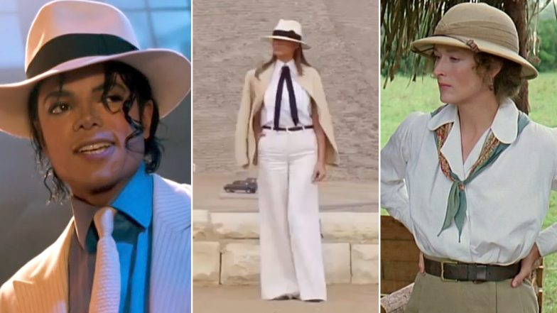 Twitterati Compare Melania Trump to Movie Characters for Her Outfit During Egypt Tour and the Results Are Hilarious!
