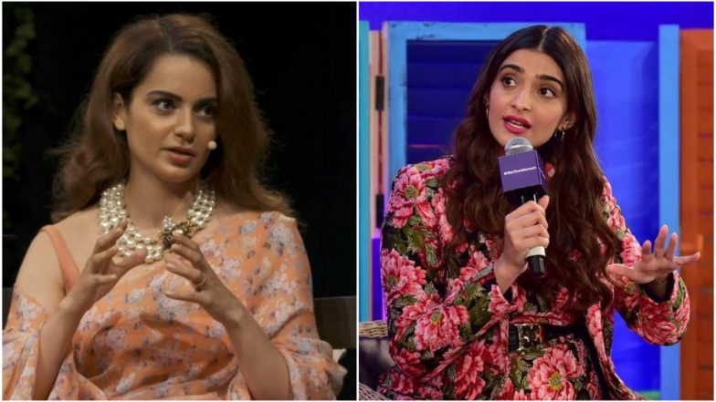 #MeToo Movement in India Might Take Longer to Affect Us, Thanks To Cat Fights By A-Listers Like Sonam Kapoor and Kangana Ranaut