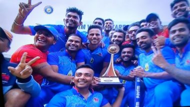 Vijay Hazare Trophy 2018 Video Highlights: Mumbai Beat Gautam Gambhir-led Delhi by Four Wickets to Win the Title