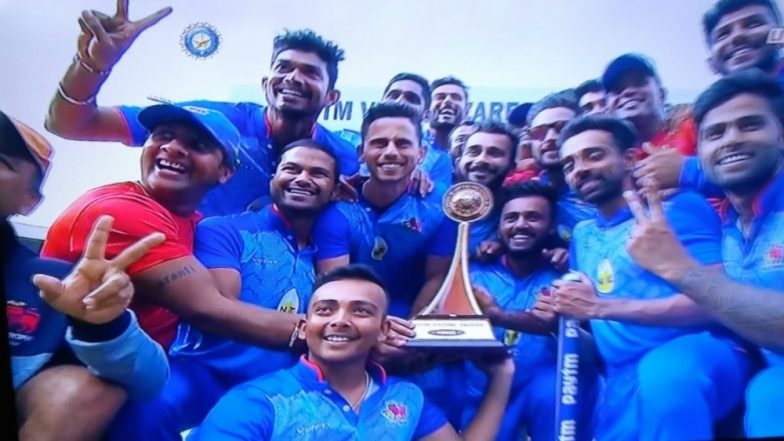 Vijay Hazare Trophy 2018 Video Highlights: Mumbai Beat Gautam Gambhir-led Delhi by Four Wickets to Win the Title