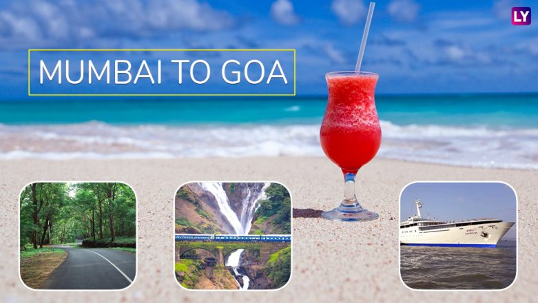 Best Way to Travel From Mumbai to Goa: Road, Rail, Air & Sea – All Route Options With Pros and Cons to Reach the Beach Destination