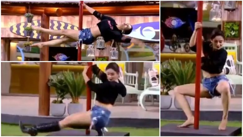 Bigg Boss 12: Nehha Pendse Turns Up the Heat With Her Sexy Pole Dance – Watch Video