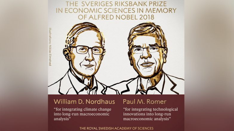 Nobel Prize 2018 For Economic Sciences Winner: William Nordhaus & Paul Romer Awarded Honour For 'Including Climate Change & Technological Innovation in Economic Theory'