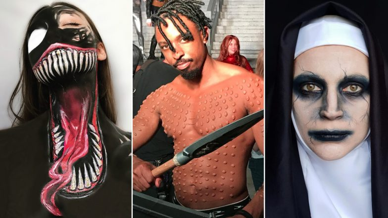 Halloween 2018: Venom, Pennywise, The Nun and Other Trendy Makeup and Costume Ideas For This Year's Spookfest