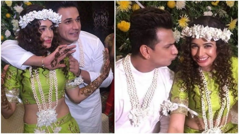 Prince Narula and Yuvika Chaudhary Mehendi: These Pre-Wedding Pics Are Giving Us All New Relationship Goals