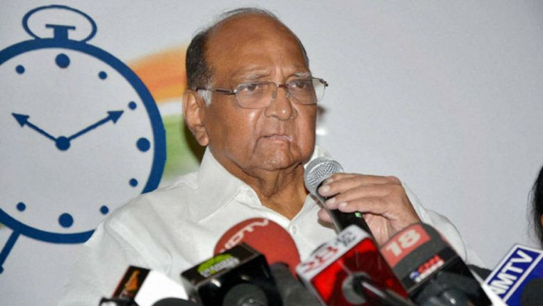 Sharad Pawar Accuses PM Narendra Modi of Not Attending Political Party Meet After Pulwama Attack