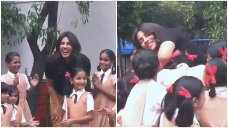 Loveyatri: Priyanka Chopra Accepts Aayush Sharma and Warina Hussain's 'ChogadaWithLove' Challenge - Watch Video