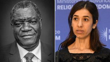 Nobel Peace Prize 2018 Winner: Denis Mukwege & Nadia Murad Awarded Honour For Efforts to End Sexual Violence as Weapons of War & Armed Conflict